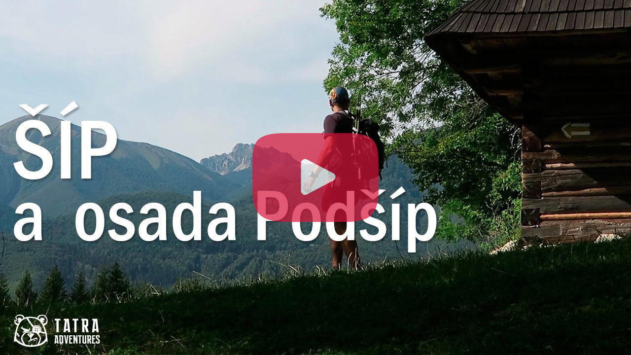Šíp a osada Podšíp - video