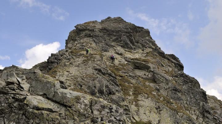 Přechod Západních Tater: Přes řetězy na Tri kopy