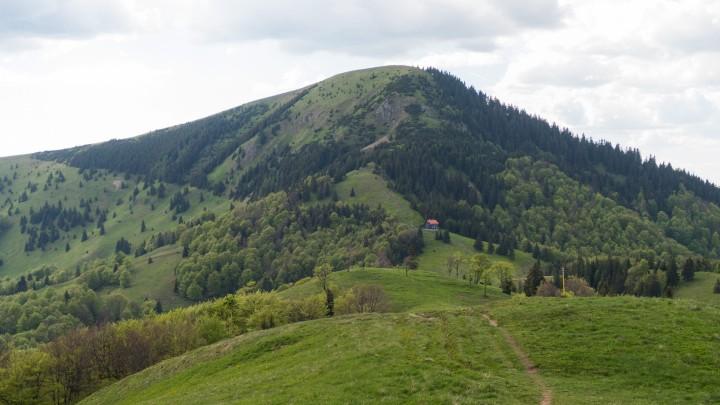 Borišov a chata pod Borišovom