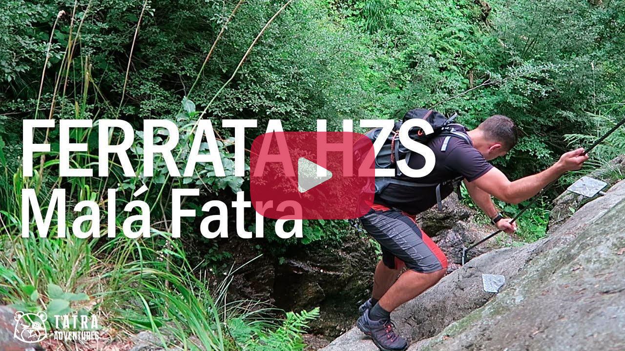 Ferrata HZS na Martinské hole - video