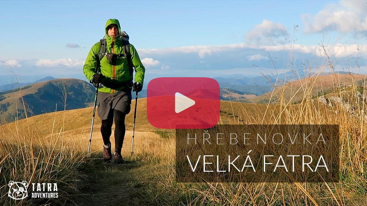 Hřebenovka - přechod Velké Fatry - video