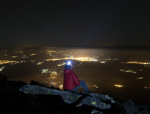 Noc v Tatrách
