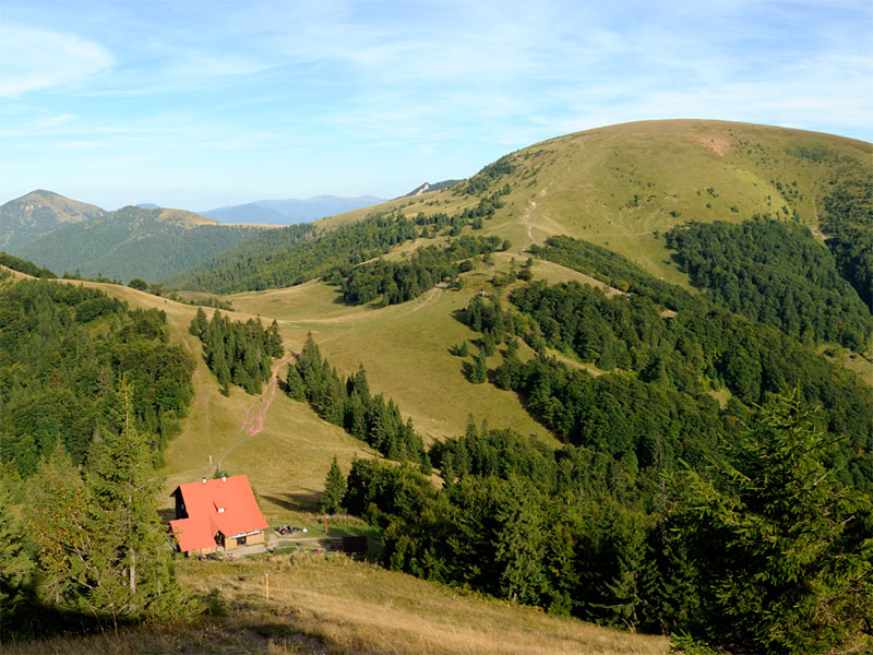 chata pod Borišovom a Ploská
