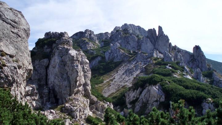 Skalní město Radové skaly pod Sivým vrchem