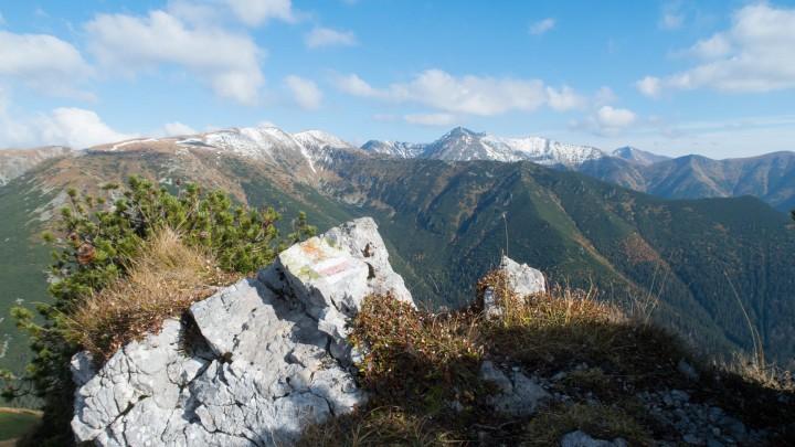 Výhled ze Sivého vrchu