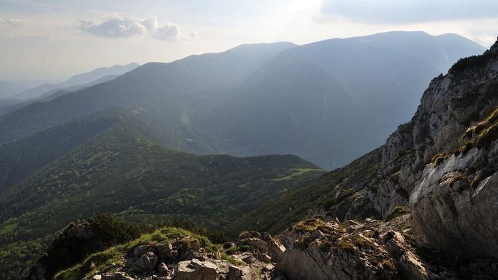 Hlavní hřeben ze Sivého vrchu