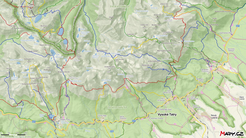 Vysoke Tatry Turisticke Trasy A Ubytovani Tatra Adventures
