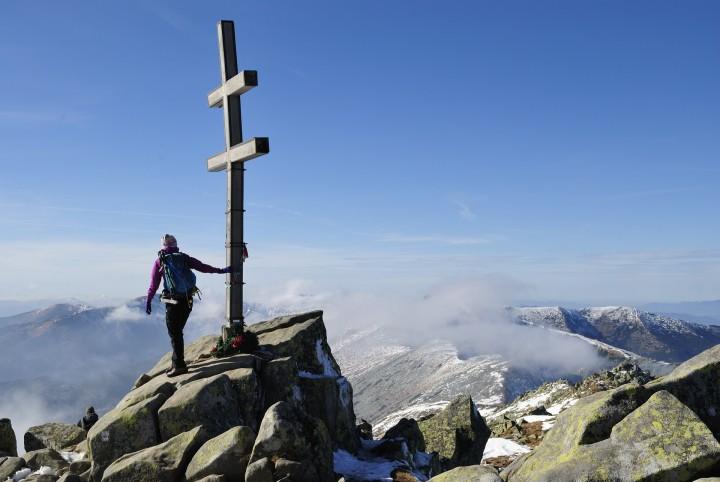 Nejvyšší vrchol celé hřebenovky Nízkých Tater - Ďumbier